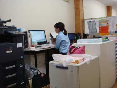 高知難病連の事務室