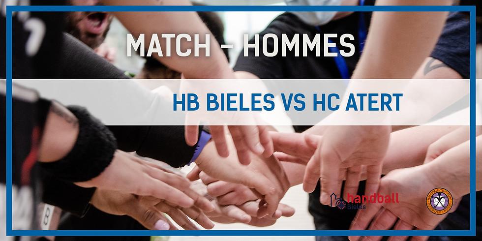 Match: Handball Bieles - HC Atert (Hommes)