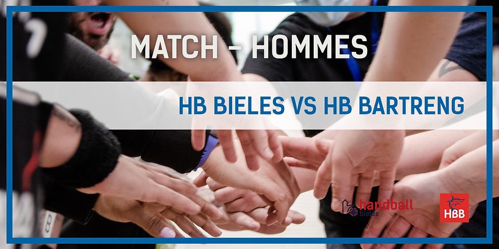 Match: Handball Bieles - HB Bartreng (Hommes)