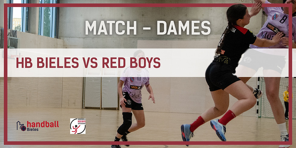 Match: Handball Bieles - RedBoys (Dammen)