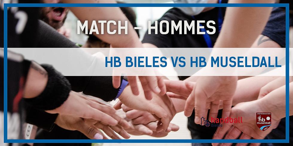 Match: Handball Bieles - HB Museldal (Hommes)