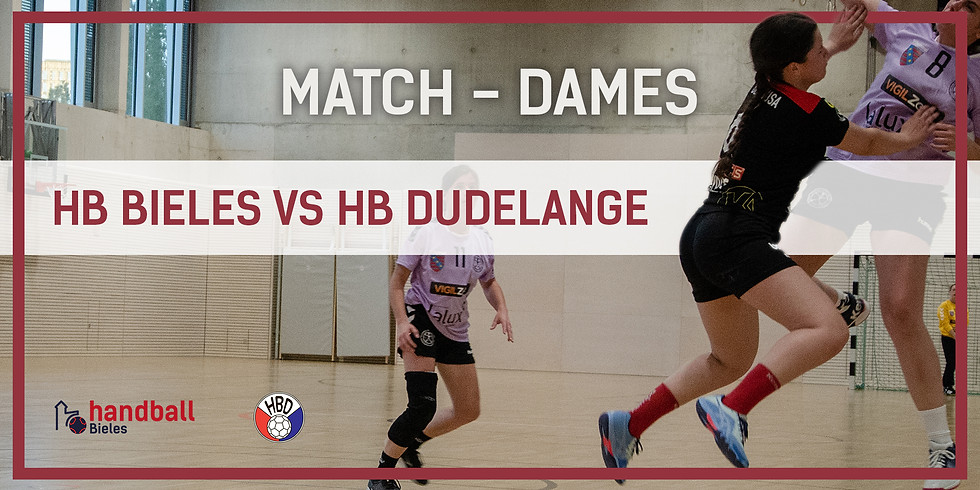 Match: Handball Bieles - HB Dudelange (Dammen)