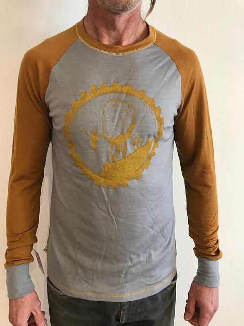 "T-shirt Manches Longues Merinos ""SO-Maille à Part""Homme"