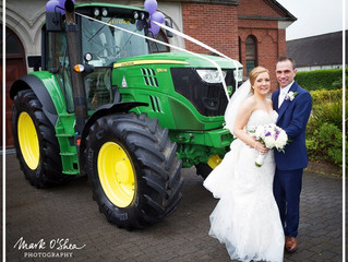 Cork Groom Makes An Unusual Arrival At His Wedding