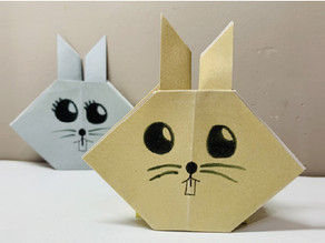 Aprenda a fazer um origami de Coelho