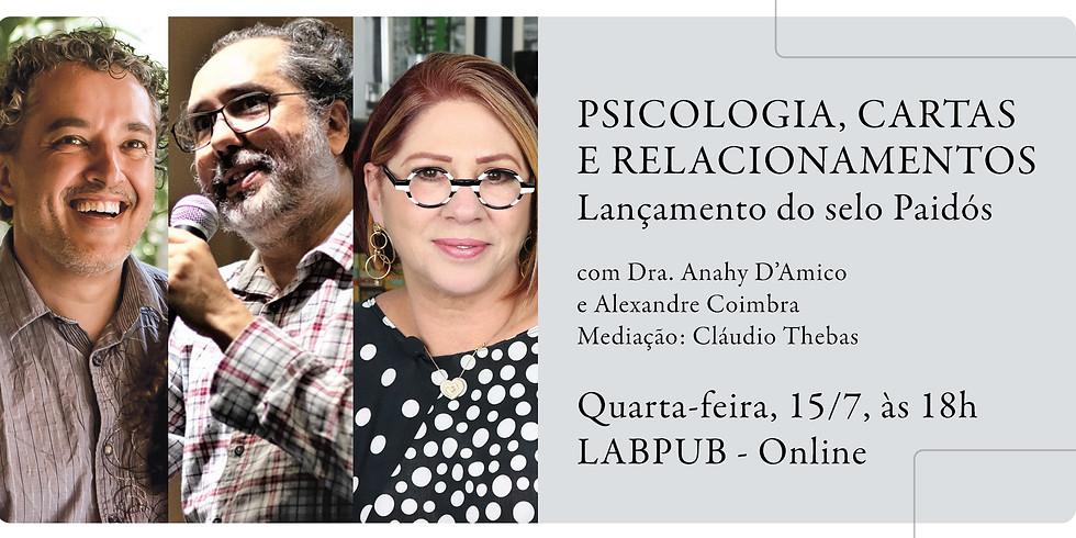 Psicologia, cartas e relacionamentos - Lançamento do selo Paidós