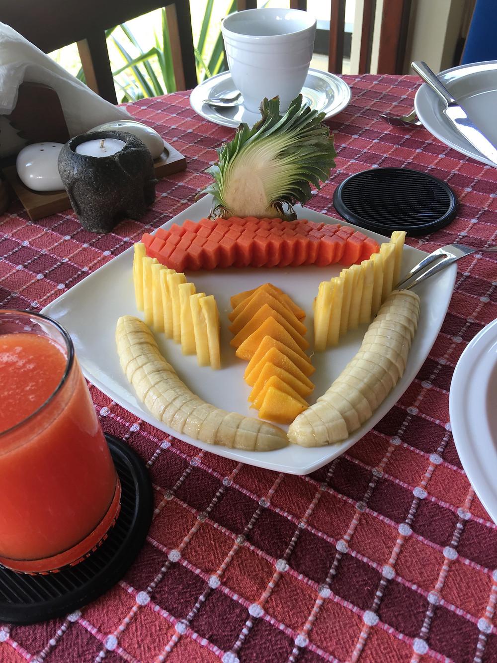 Breakfast appetizer