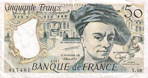 France 1987, Banque de France, 50 Francs, P-152c