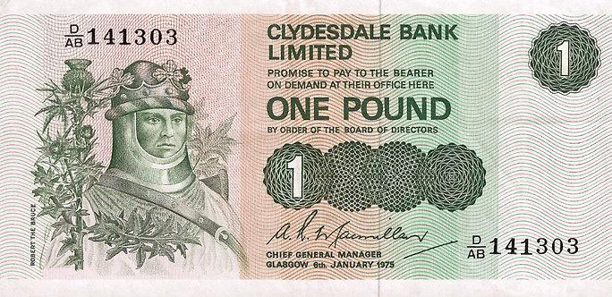 Scotland 1975, Clydesdale Bank, Macmillan, *D/AB*, P-204c