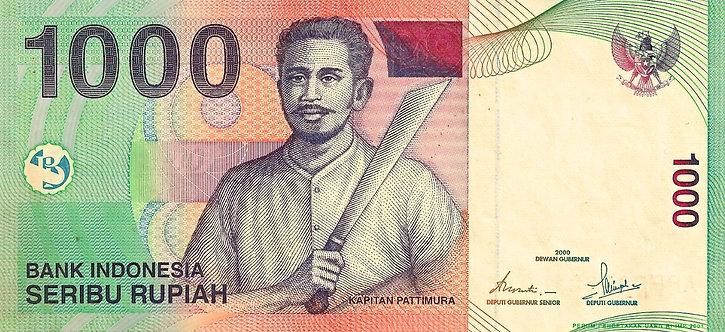 Indonesia 2000, Bank Indonesia, 1000 Rupiah, *APF*, P-141