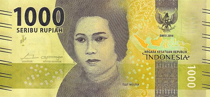 Indonesia 2016, Bank Indonesia, 1000 Rupiah, *DAQ*, P-154