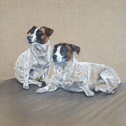 Twinkle and Federico - Oil