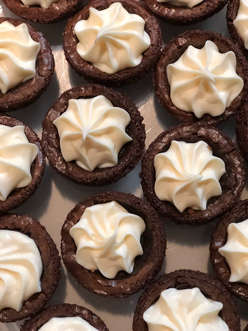 Brownie Bites (Cream Cheese Icing)