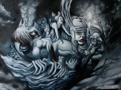 Monstres sur iles flottantes