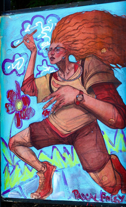 Peinture extérieur pour Mtl en Arts