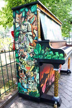 Piano Public 2 dans Outremont
