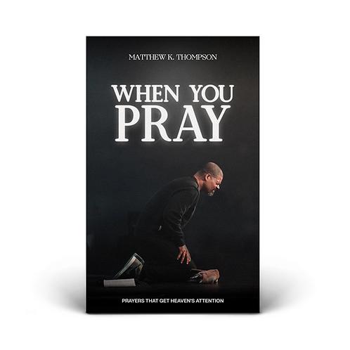 WHEN YOU PRAY BOOK