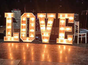 Rustic Love letters hire mid wales