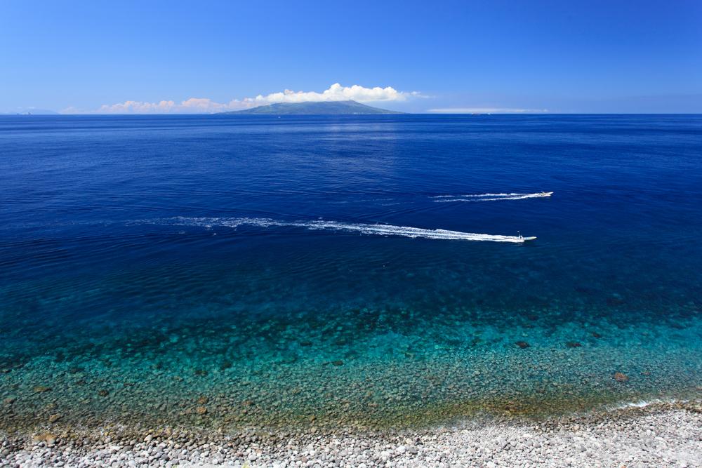 御蔵島 真夏の海 高縄奈々