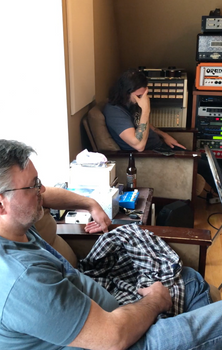 """Together"" single sessions, Oct. 2019, Portrait Recording Studios"