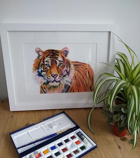 Tiger Art Print - Jagos Art