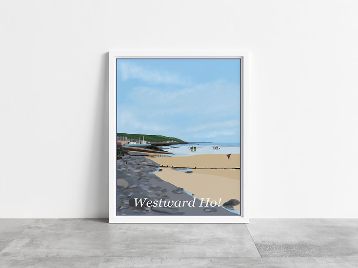 Westward Ho! Art Print