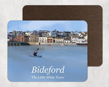 Bideford Town North Devon Table Placemat