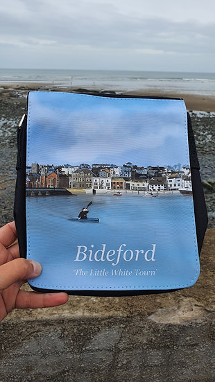 Bideford Town North Devon Shoulder Bag Jagos Art