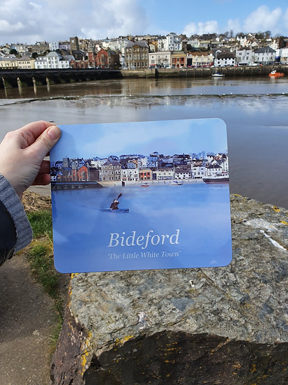 Bideford Town North Devon Placemat - Jagos Art
