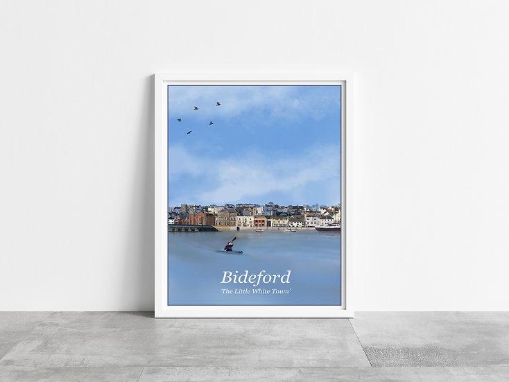 Bideford Town Art Print