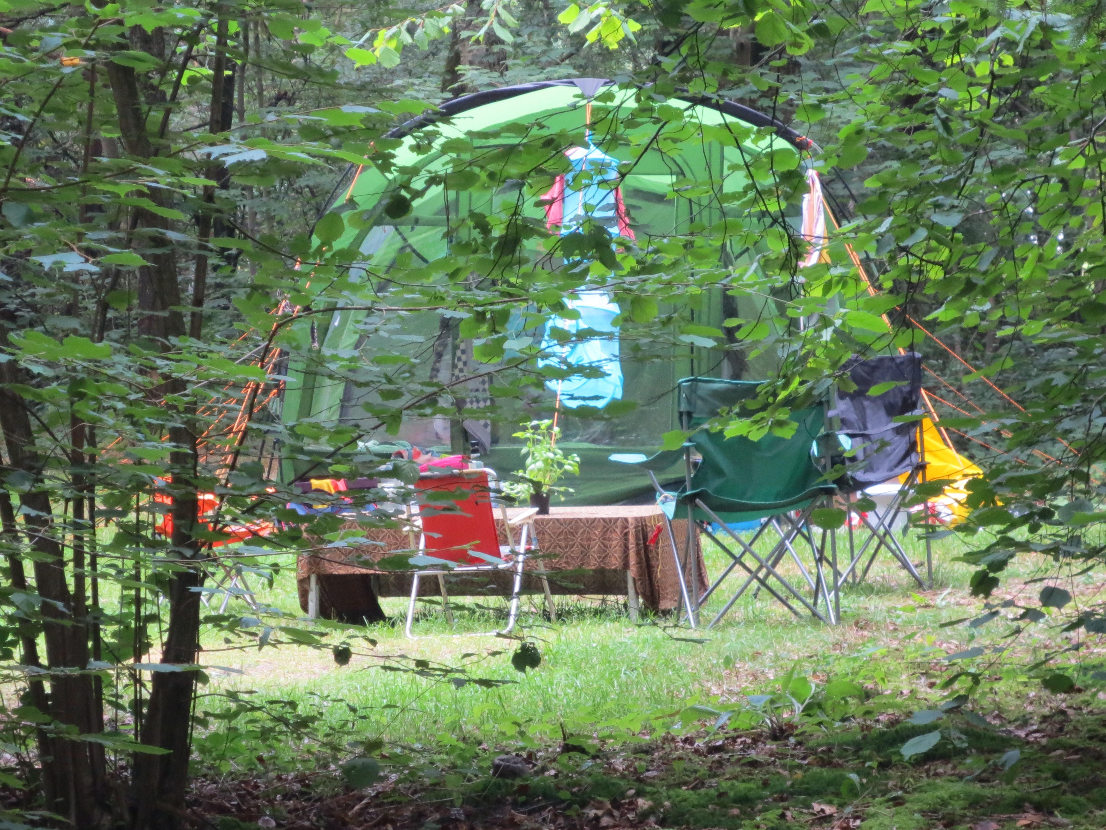 family tent camping wesertal.JPG