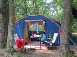 camping kamperen campen Wesertal