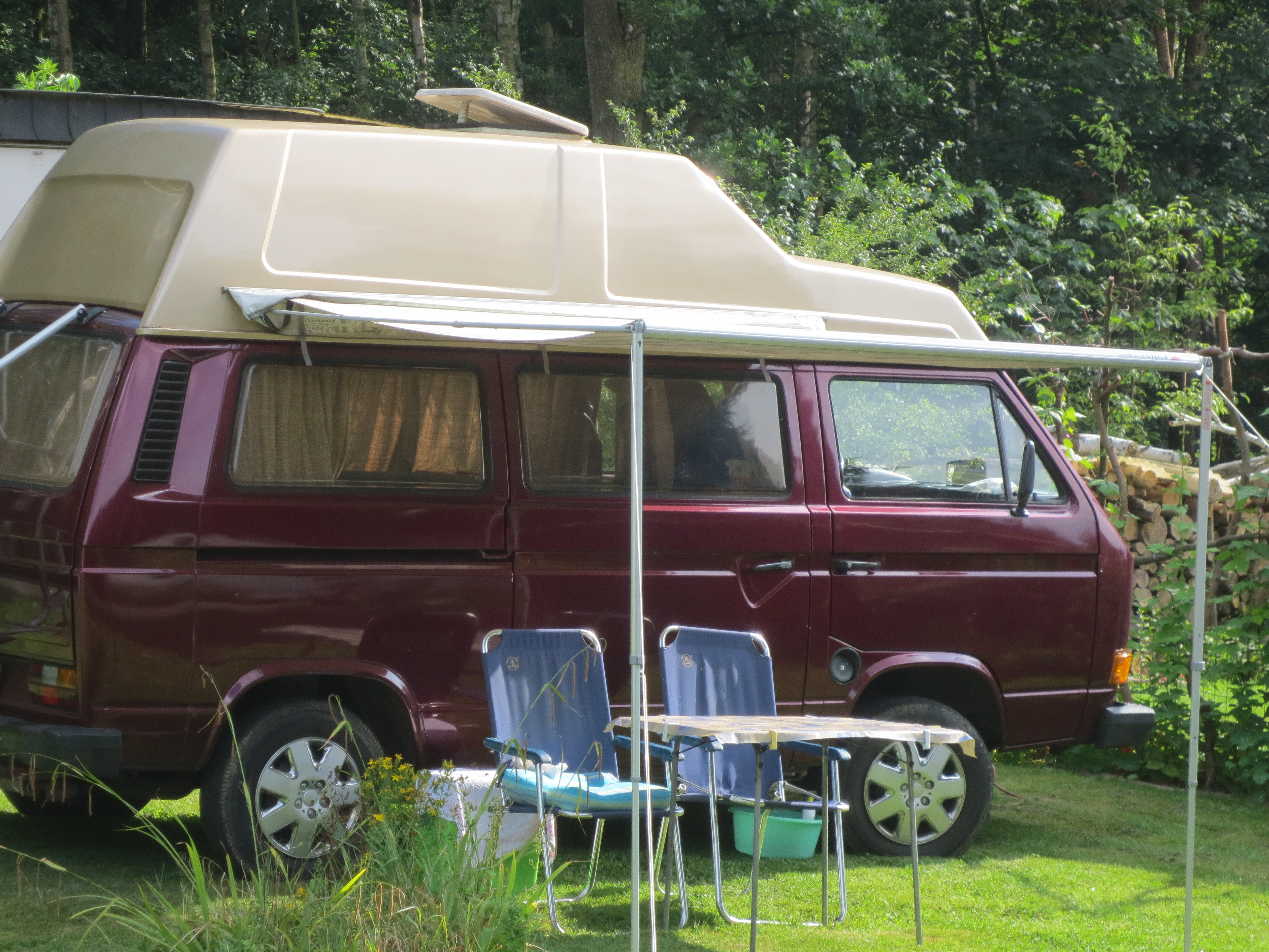 T3 kamperen camping wesertal