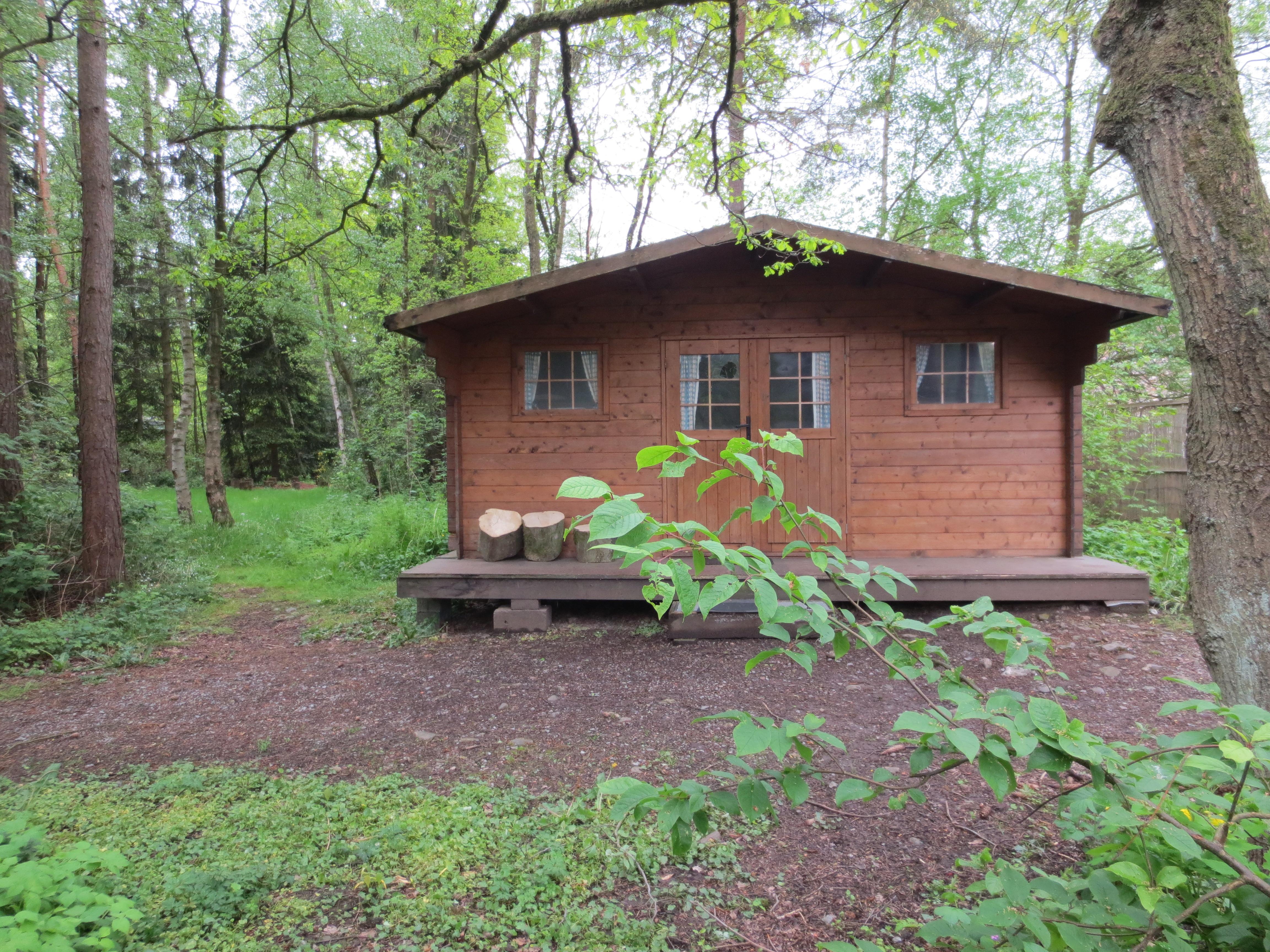 camping wesertal trekking hut