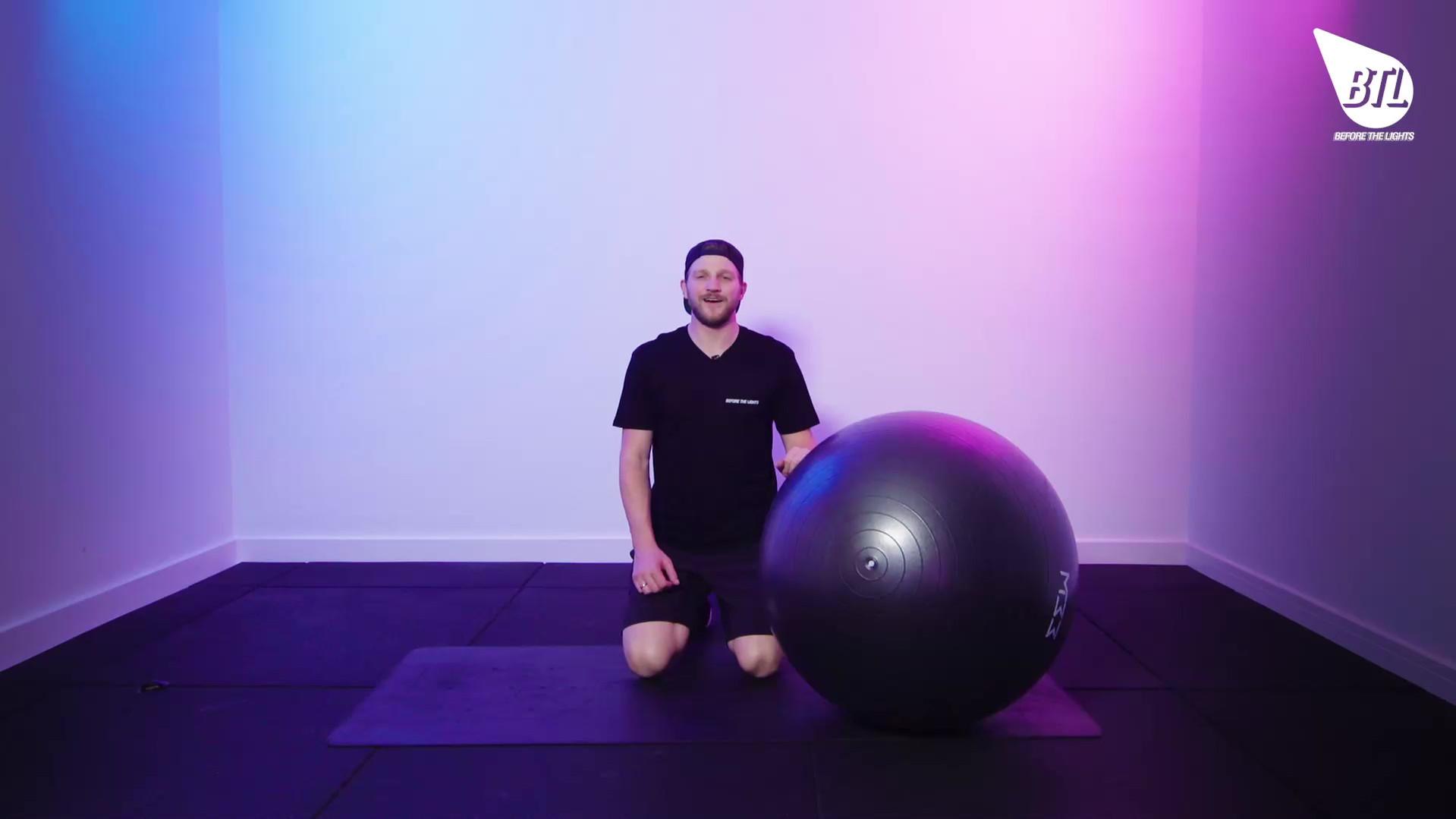 Swiss Ball Stir-The-Pot