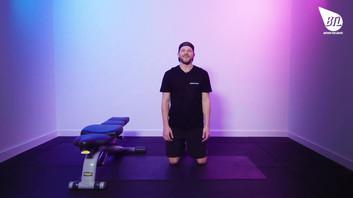 Kneeling Incline Triceps Push Up