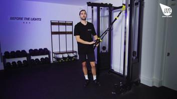 TRX overhead Triceps Press