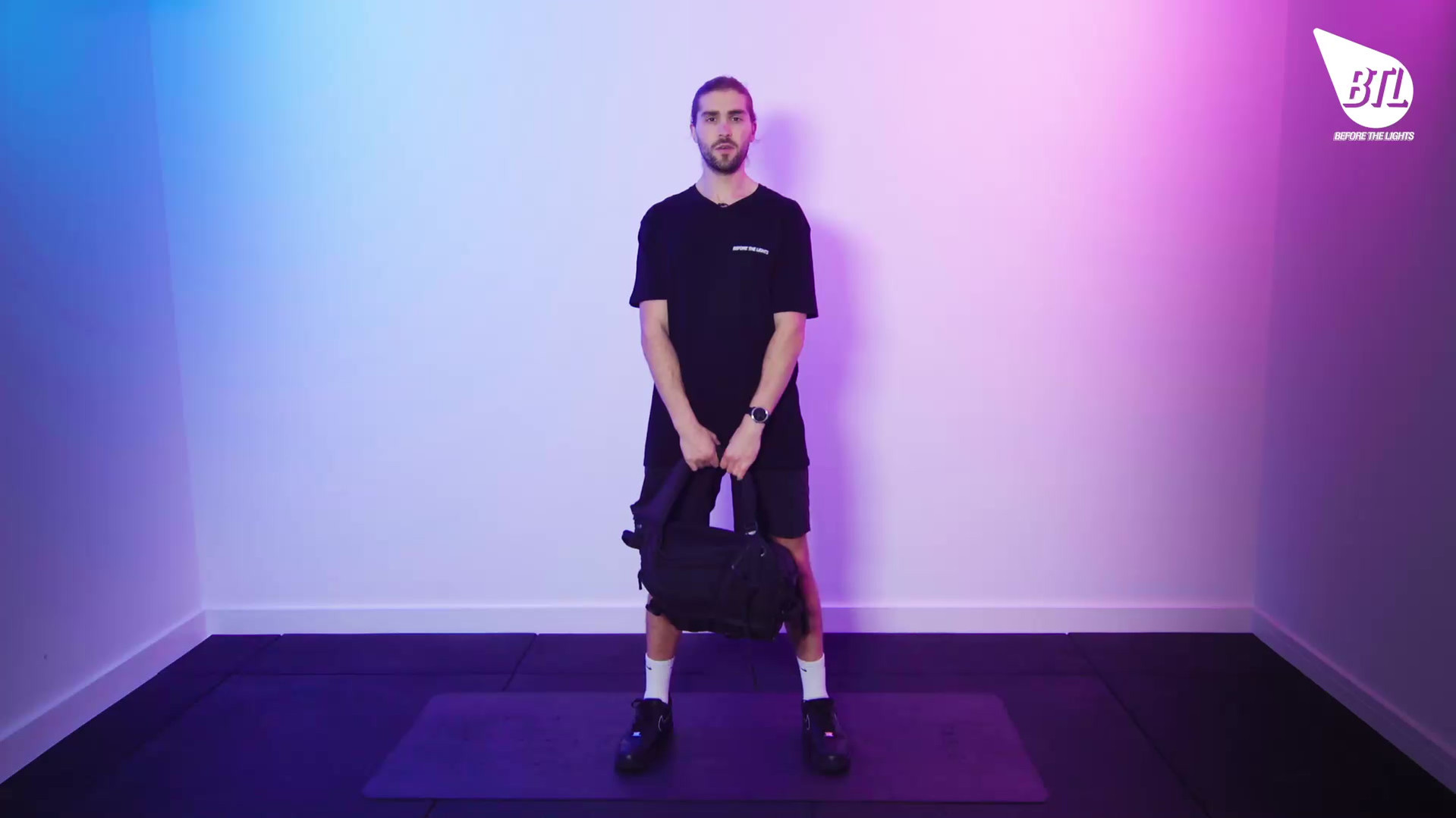 Backpack Deadlift