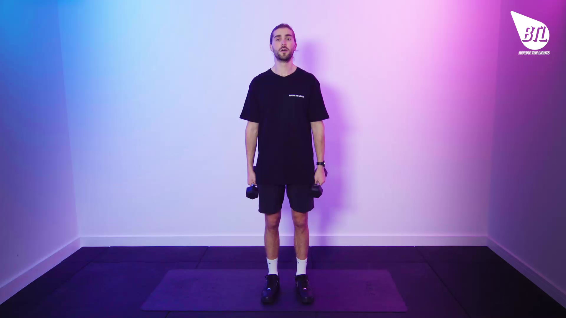 Water Bottle Triceps Kick Back