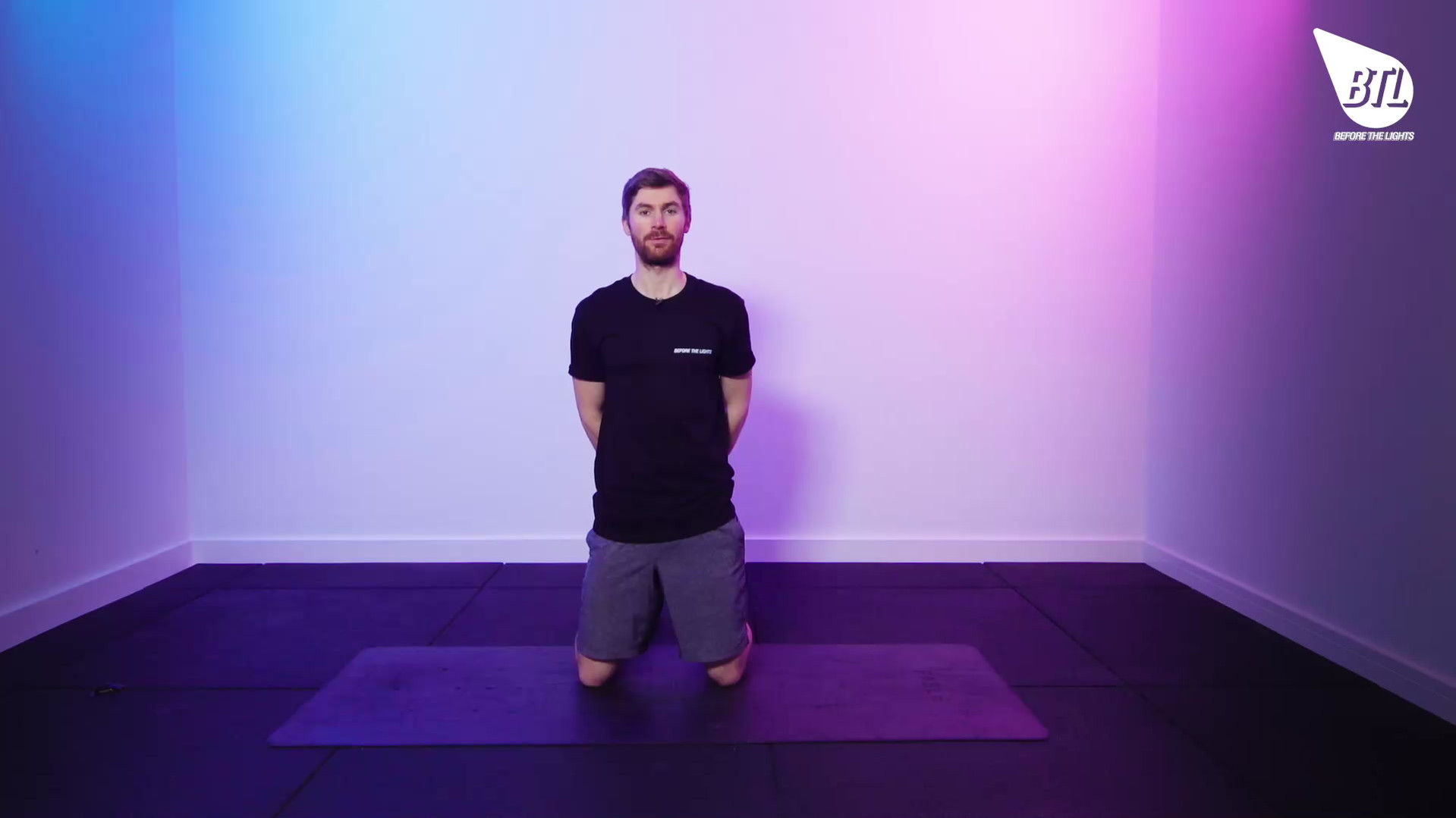 High Plank Front-Back Reach
