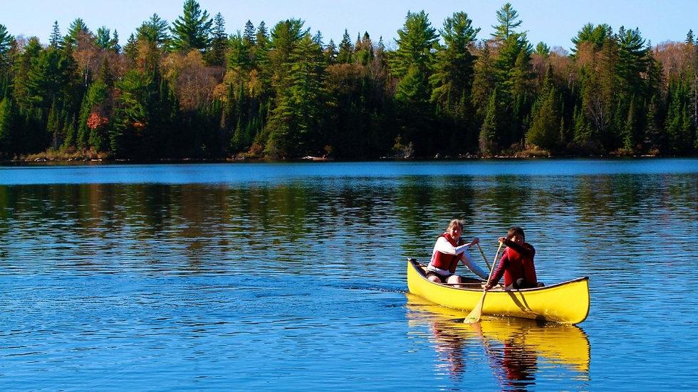 Algonquin Park Canoe Tour 3 Days