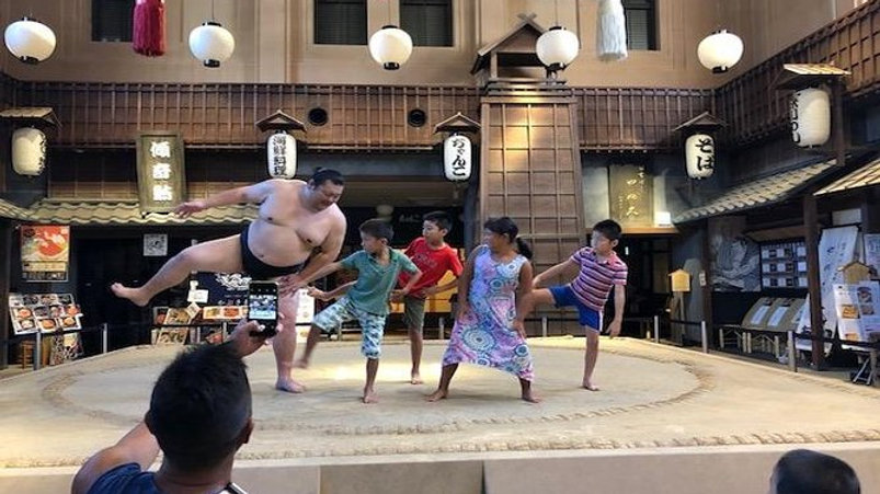 Sumo Experience with lunch at Ryogoku Edo Noren