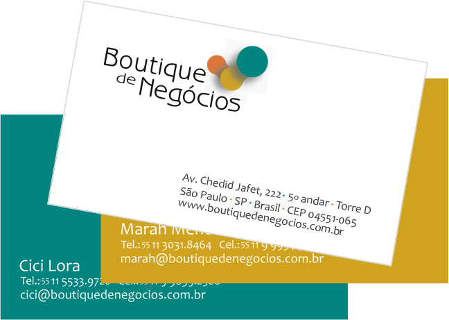 BOUTIQUE DE NEÓGCIOS