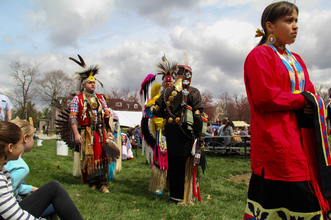 The Indiana University annual Traditional Powwow