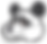 panda transparent brown eyes png.png