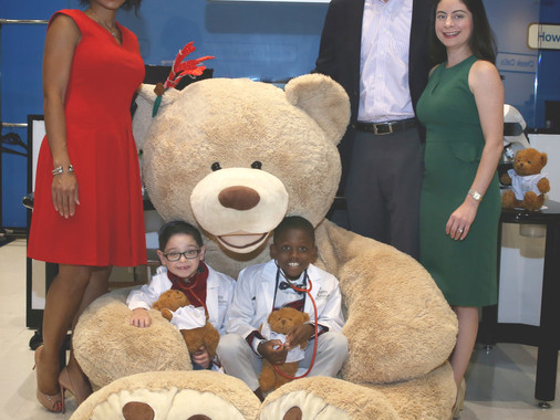 TBC 2018:  A Beary Healthy Holiday!  How to cure your child's anxiety at doctor's visits