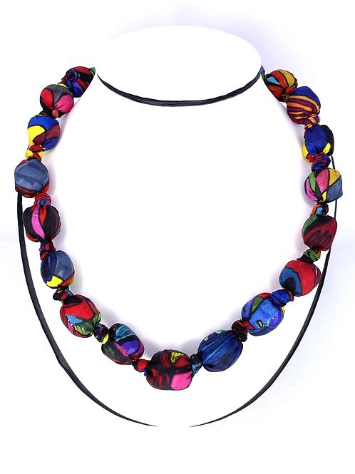 "Light Ball Necklace of RoKi's AVM ""Light"" scarf"