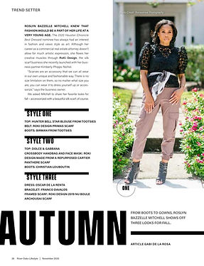 Riveroaks Lifestyle Mag RYB Feature Page