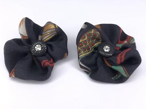 RoKi Silk Flower Shoe Clips