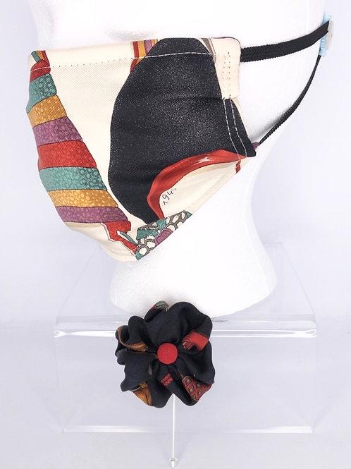 Pleated Style Face Mask Ferragamo Shoes